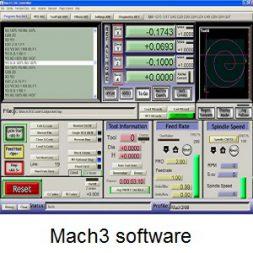 مشخصات نرم افزار mach3 ( مچ تری – ماخ تری )