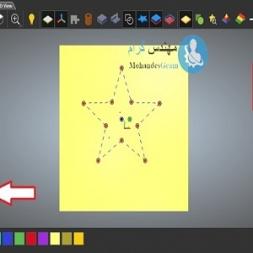 آموزش وکتور Polygons و star در نرم افزار آرتکم artcam