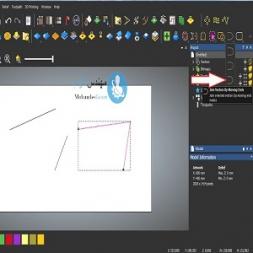 نحوه استفاده ابزار join vector در نرم افزار artcam