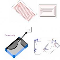 استراتژی pocket  دو محوره در surfcam بخش اول